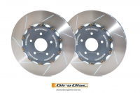 Girodisc Front Slotted 2pc Rotor Set for FK8 Type R